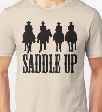 Saddle Up Cowboys Unisex T-Shirt