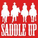 Saddle Up Cowboys (Dark) by KimberlyMarie