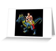 Golden Axe Tyris Flare Greeting Card