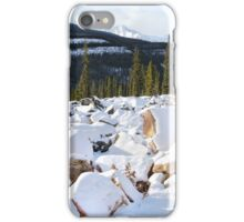 Autumn in The Rockies: The First Snow: Jasper National Park iPhone Case/Skin