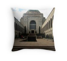 Canberra War Memorial Throw Pillow