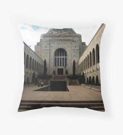 Canberra War Memorial Throw Pillow