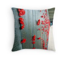 Red Poppies. Throw Pillow