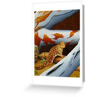 Tasmanian Quoll Greeting Card