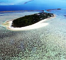 Heron Island - from the air by lu138