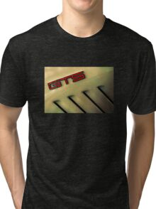 Holden GTS Badge and Gills Tri-blend T-Shirt