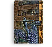 Tin Man Tin Horse Canvas Print
