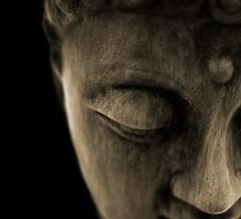 STONE BUDDHA by SIMON KEEPING