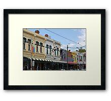 Brunswick Street, Fitzroy Framed Print