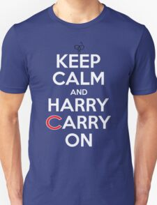 Keep Calm Harry Carry On Cubs Unisex T-Shirt