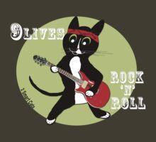 Rock n Roll Cat by 2smartcats