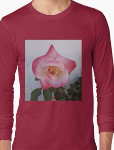 Pink Rose Long Sleeve T-Shirt