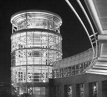 South Plaza of Salt Place Convention Centre in Salt Lake City by Robert Dettman