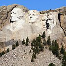 Mount Rushmore, South Dakota, USA by Teresa Zieba