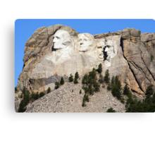 Mount Rushmore, South Dakota, USA Canvas Print