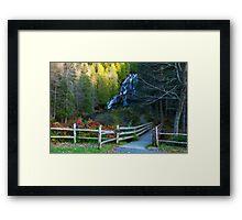 Beautiful View Framed Print