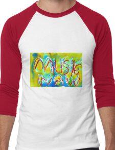 Music Now! Men's Baseball ¾ T-Shirt