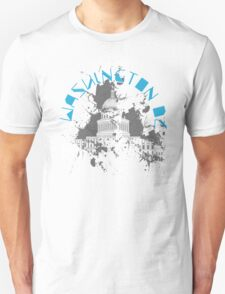 Washington D.C. Blue Unisex T-Shirt
