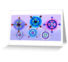See Through Shapes & Patterns Greeting Card