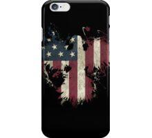 American Eagle - Black iPhone Case/Skin