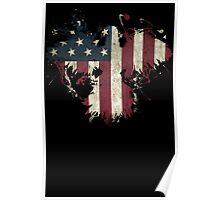 American Eagle - Black Poster