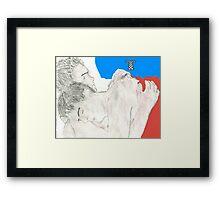 jack and ianto forever Framed Print