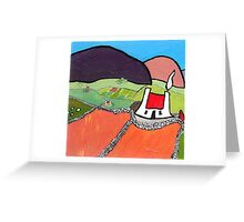 Old Stone Walls Greeting Card
