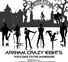 Arkham Crazy Eights by RaddSurfer