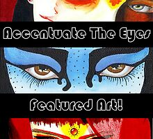 Accentuate The Eyes Feature Banner by Lynsye Medalia