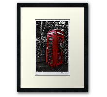 Call Home Framed Print