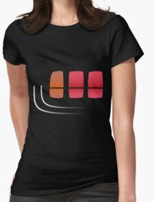 Ra28 Celica Rear Light Womens Fitted T-Shirt