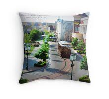 Louisiana Boardwalk Throw Pillow