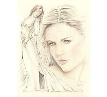 """Medieval Dream"" colour Pencil Artwork Photographic Print"