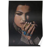 """Shiraz"" Oil on Canvas Poster"