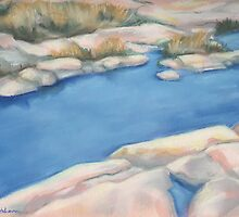 Rocks by the Water by Lisa Kretchman