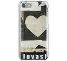 Poster Heart iPhone Case/Skin