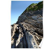 Remarkable cliffs on the french Atlantic coast Poster