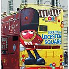 Double-Decker Bus, London by Claire McCall
