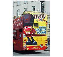 Double-Decker Bus, London Photographic Print