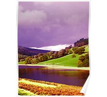 Vibrant Peaks, The Peak District Poster