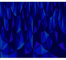 Sapphire Scales Photographic Print