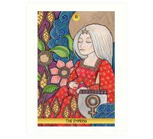 III The Empress Tarot Card Art Print