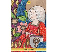 III The Empress Tarot Card Photographic Print