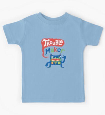 Trouble Maker - dark Kids Clothes