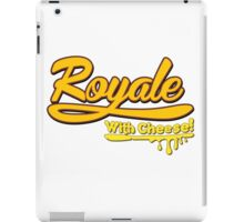 Royale With Cheese! iPad Case/Skin