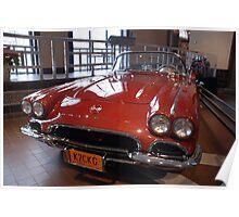 Corvette: 1962 Convertible Poster