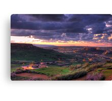 Early Morning in Gozo Canvas Print