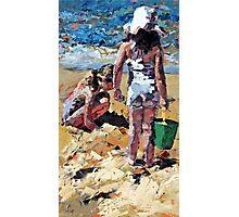 Sandcastles II Photographic Print