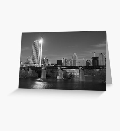 Austin Skyline - 2009  Greeting Card