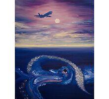 Over Seas Photographic Print